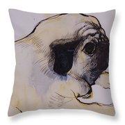 Hogarth Throw Pillow