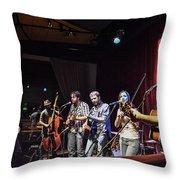 Hogmaw Band Throw Pillow