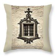 Hohes Schloss Window Throw Pillow