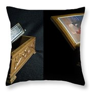 Hohner Chromonica - Cross Your Eyes And Focus On The Middle Image Throw Pillow