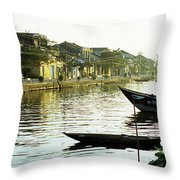 Hoi An Dawn 01 Throw Pillow