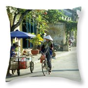 Hoi An Early Morning Throw Pillow