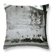 Hoi An Meeting Throw Pillow
