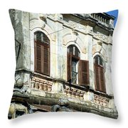 Hoi An Old Colonial Throw Pillow