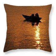 Hoi An Sunrise 02 Throw Pillow