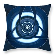 Holding Lines Throw Pillow