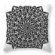Holding On For Life Throw Pillow