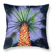 Holding Onto The Earth Throw Pillow
