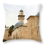 Holding Out Throw Pillow