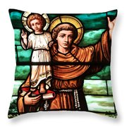 Holding The Little One Throw Pillow