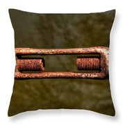 Holding Things Together Throw Pillow