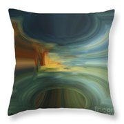 Hole In The Sky Throw Pillow