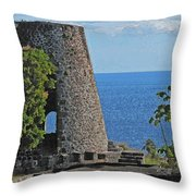 Hole In The Tower Throw Pillow