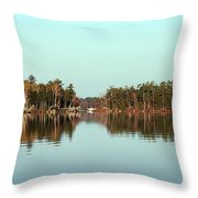 Hole In The Wall Throw Pillow by Skip Willits