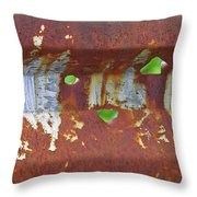Holey Gate Throw Pillow