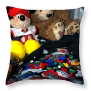 Holiday Bear Throw Pillow