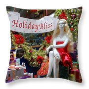 Holiday Bliss Throw Pillow
