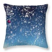 Holiday Card 24 Throw Pillow