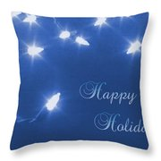 Holiday Card I Throw Pillow