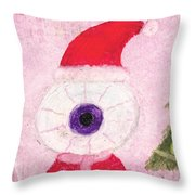 Holiday Eye Throw Pillow