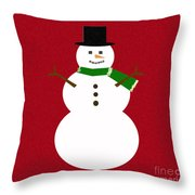 Holiday Hugs Throw Pillow