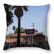Holiday Inn Throw Pillow