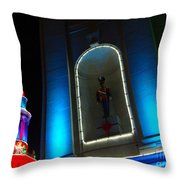 Holiday Lights 2012 Denver City And County Building N2 Throw Pillow