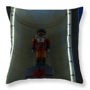 Holiday Lights 2012 Denver City And County Building Q2 Throw Pillow