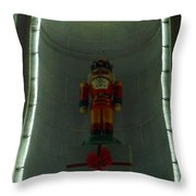 Holiday Lights 2012 Denver City And County Building Q3 Throw Pillow