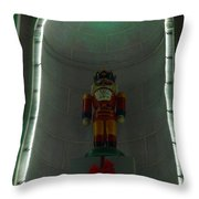 Holiday Lights 2012 Denver City And County Building Q6 Throw Pillow