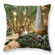 Holiday Lights - Wynn Hotel Throw Pillow