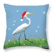 Holiday March Throw Pillow