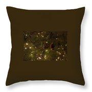 Holiday Sparkle Throw Pillow
