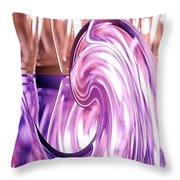 Holiday Wine Throw Pillow