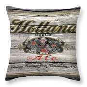 Holland Ale Throw Pillow