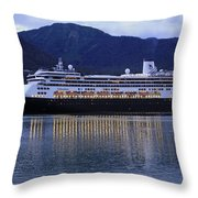 Holland America Volendam Throw Pillow