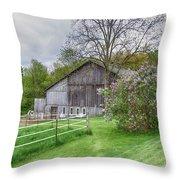 Holland Barn Throw Pillow