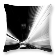 Holland Tunnel - Image 1696-01 Throw Pillow
