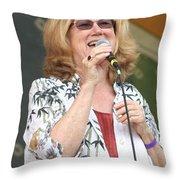 Holly Near Throw Pillow