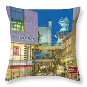 Hollywood And Highland Center Hoillywood Ca  Throw Pillow