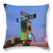 Hollywood And Vine Throw Pillow