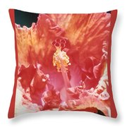 Hollywood Hibiscus Beauty Throw Pillow