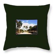 Hollywood Florida Throw Pillow