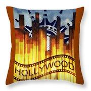 Hollywood Gold Throw Pillow