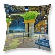 Hollywood Los Angeles Ca Throw Pillow