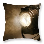 Hollywood Throw Pillow by Olivier Le Queinec