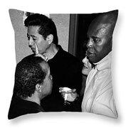 Hollywood Reception Throw Pillow