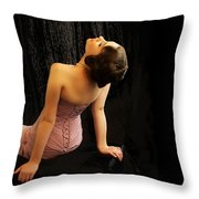 Hollywood Starlet Throw Pillow