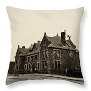 Holmesburg Prison Throw Pillow