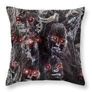 Holocaust A World In Mourning Throw Pillow